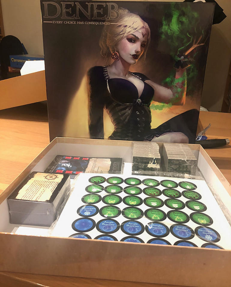 The prototype box and cards have been created!