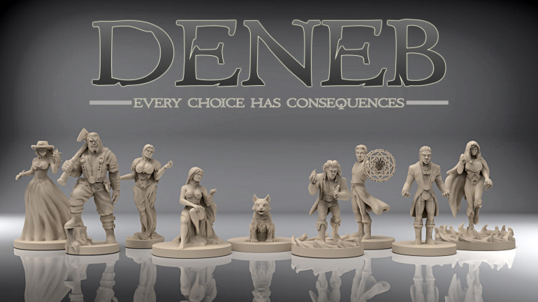 All the sculpts are complete for the planned 2-player starter set