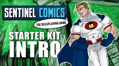 Sentinel Comics RPG Starter Kit - Introduction