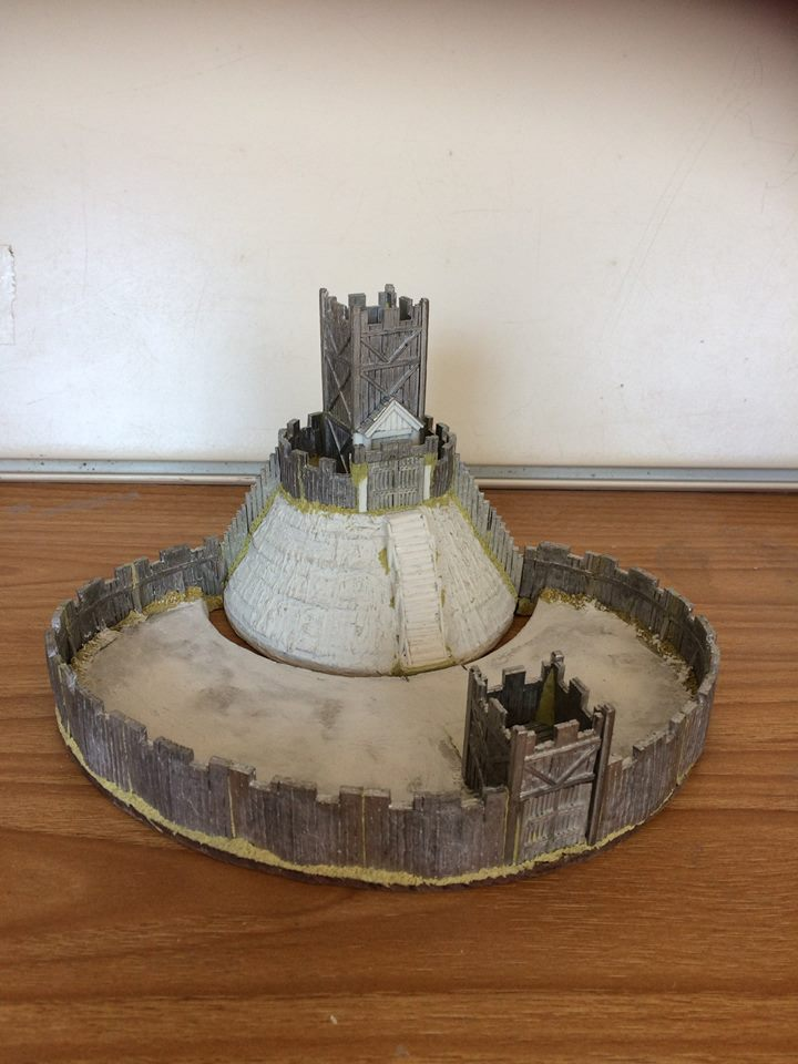 15mm Motte & Bailey #1 - Forged In Battle