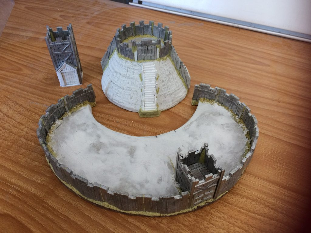 15mm Motte & Bailey #2 - Forged In Battle