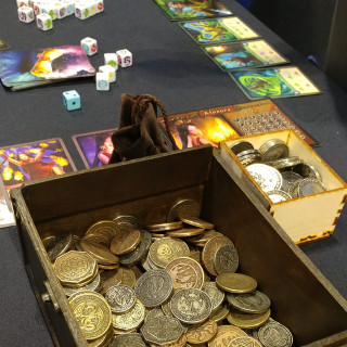 Drawlab Shows Off Witless Wizards and Shiny Shiny Coins