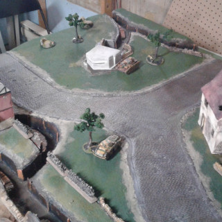 And the final pictures. I'll try and do a battle report of my first game on this table. Cheers! 6-09-2018.