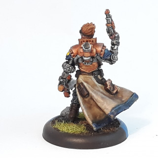 First Warcaster Commander Coleman Stryker