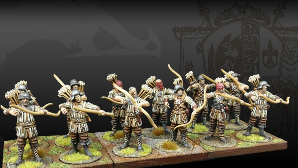 Beautiful Painted Archer Militia Drop By From ParaBellum