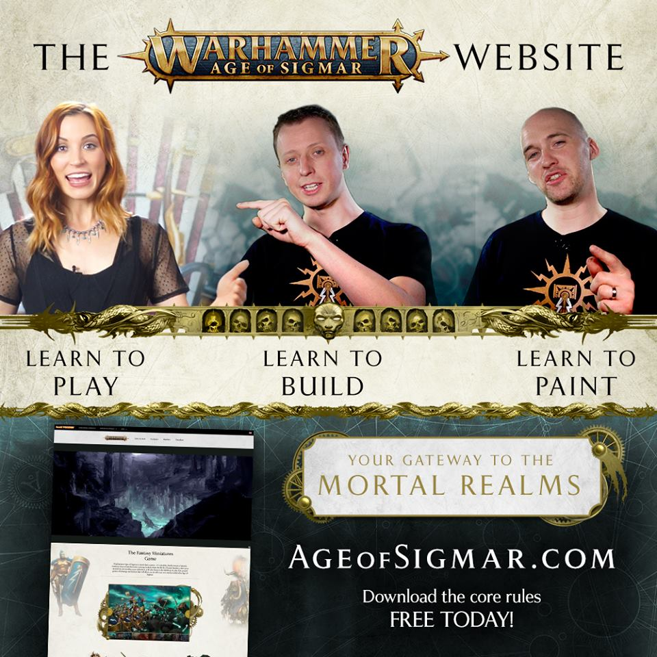 Age Of Sigmar Learn To Play - GW