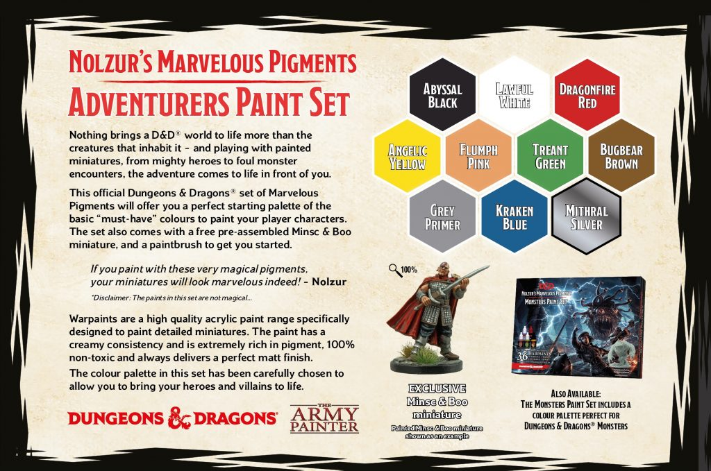 Adventure Paint Set #2 - New