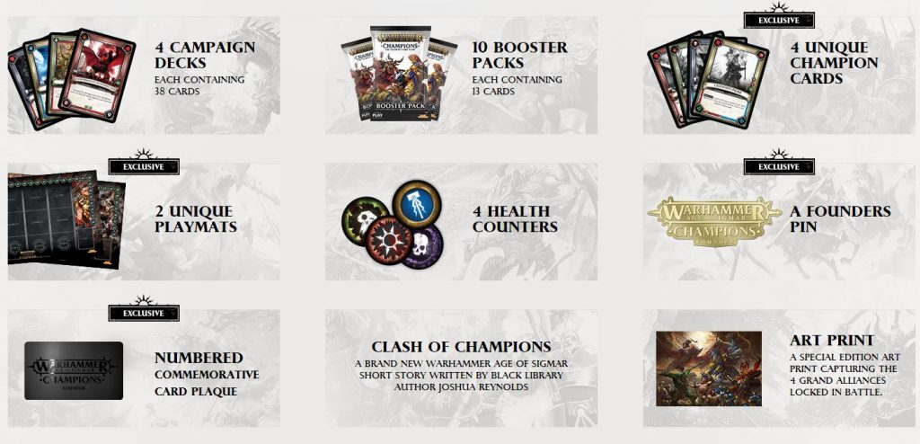 Age Of Sigmar Champions Founders Pack