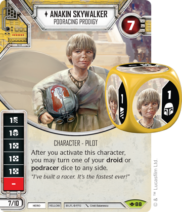 Anakin Skywalker - Star Wars Destiny