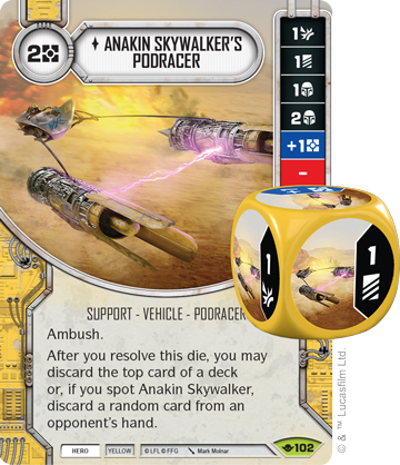 Anakin's Podracer - Star Wars Destiny