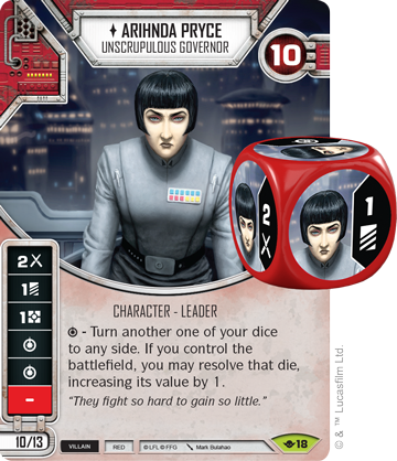 Arihnda Pryce - Star Wars Destiny