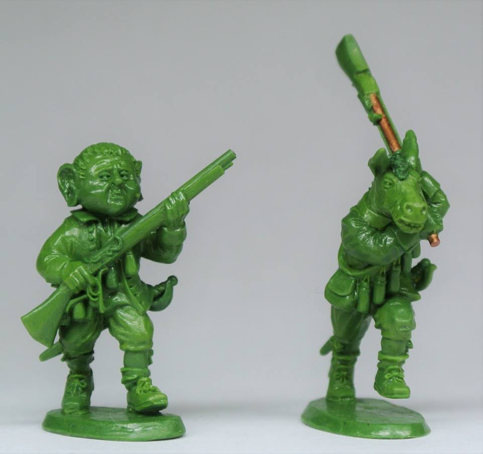 Avalon Bleeding Musketeers - Eureka Miniatures