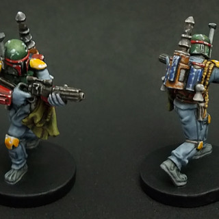 What I've painted so far...
