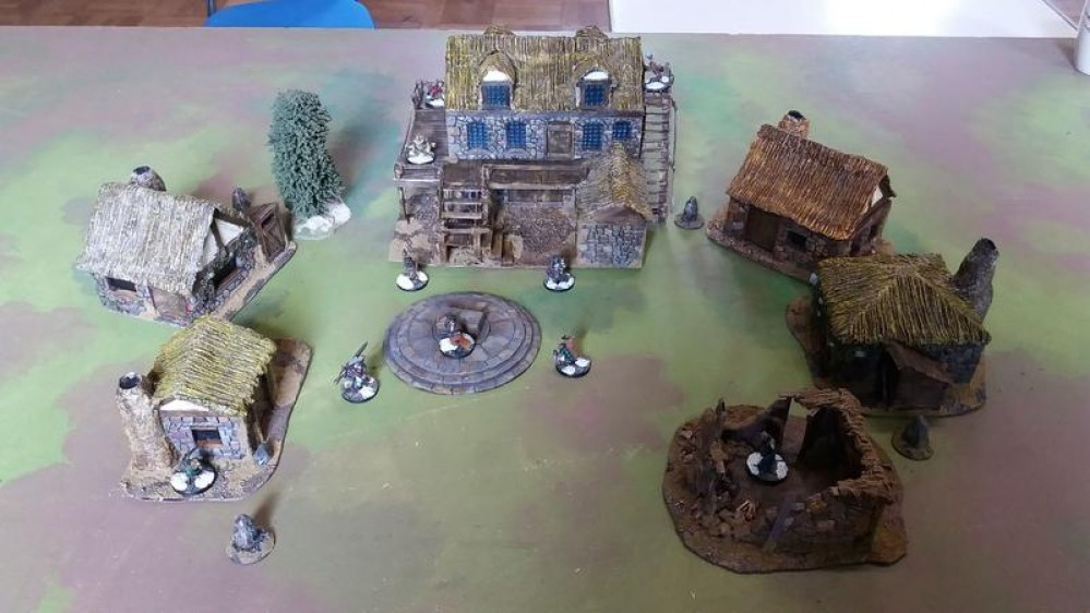 Burrows & Badgers Terrain #1 - soldado