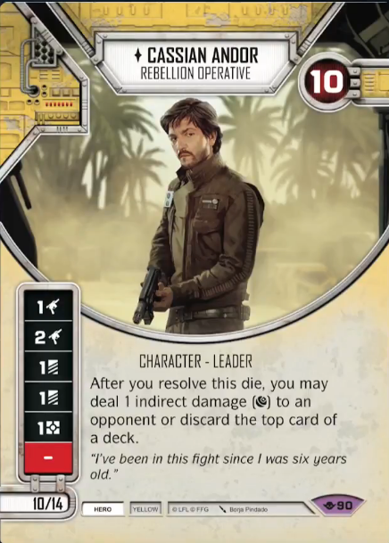 Cassian Andor - Star Wars Destiny