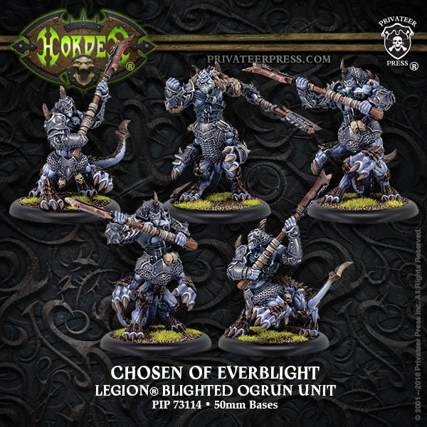 Chosen of Everblight - Hordes