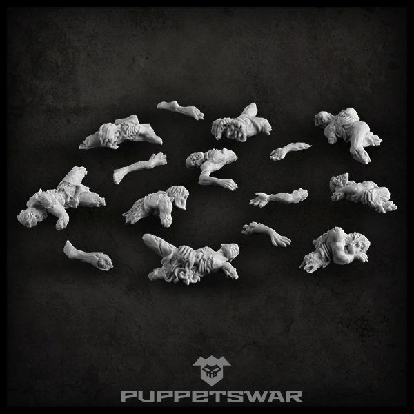 Corpse Pile - Puppets War