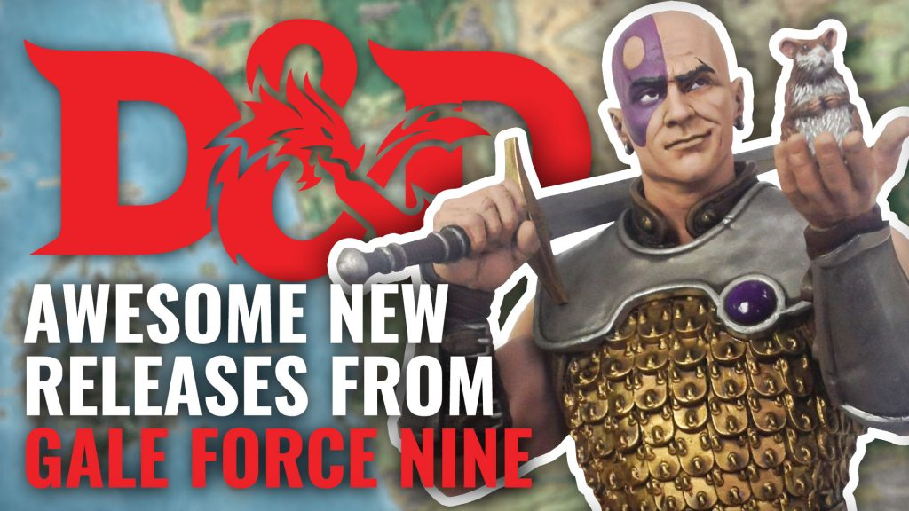 NEW Dungeons & Dragons Releases From Gale Force Nine