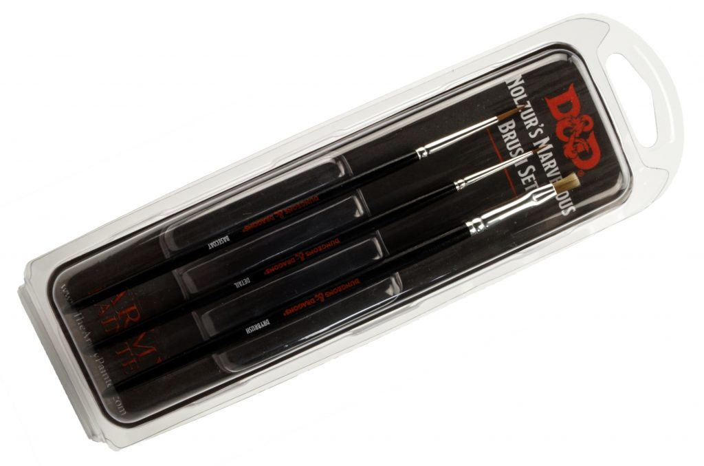 D&D Paint Brushes - New