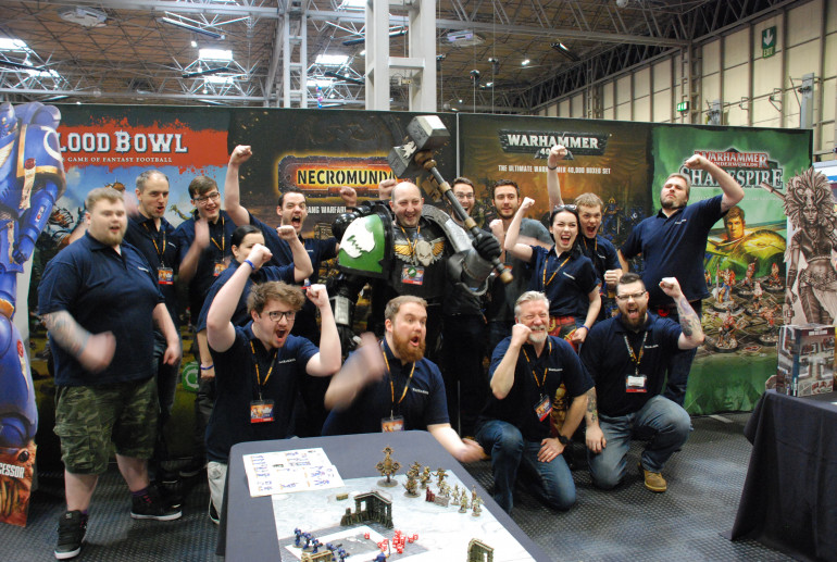 Having A Blast At UKGE