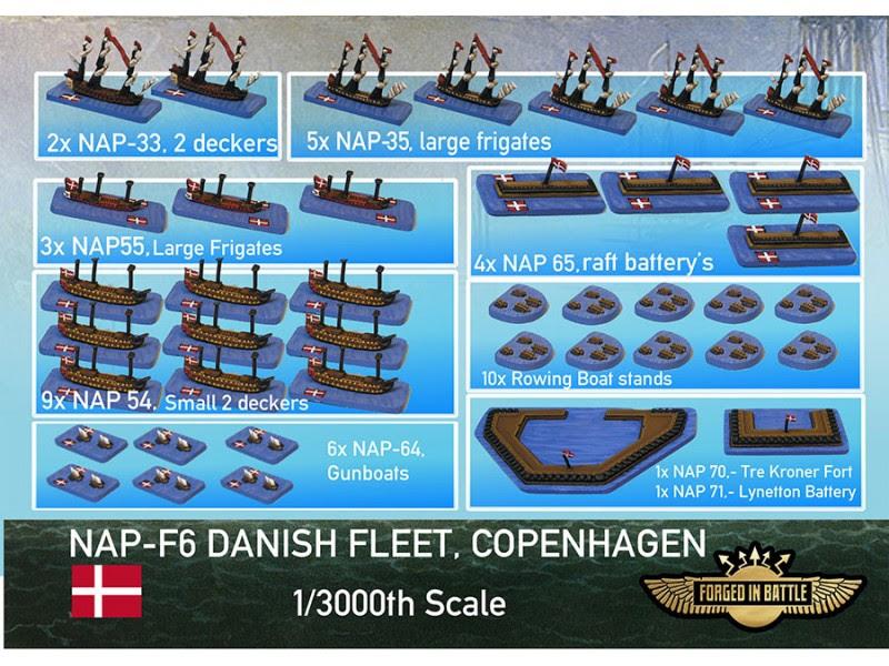 Danish Fleet Copenhagen - Forged In Battle