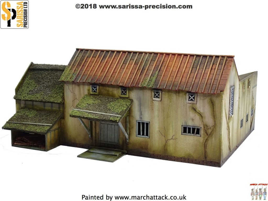 Dark Age Villa Farmstead (Rear) - Sarissa Precision