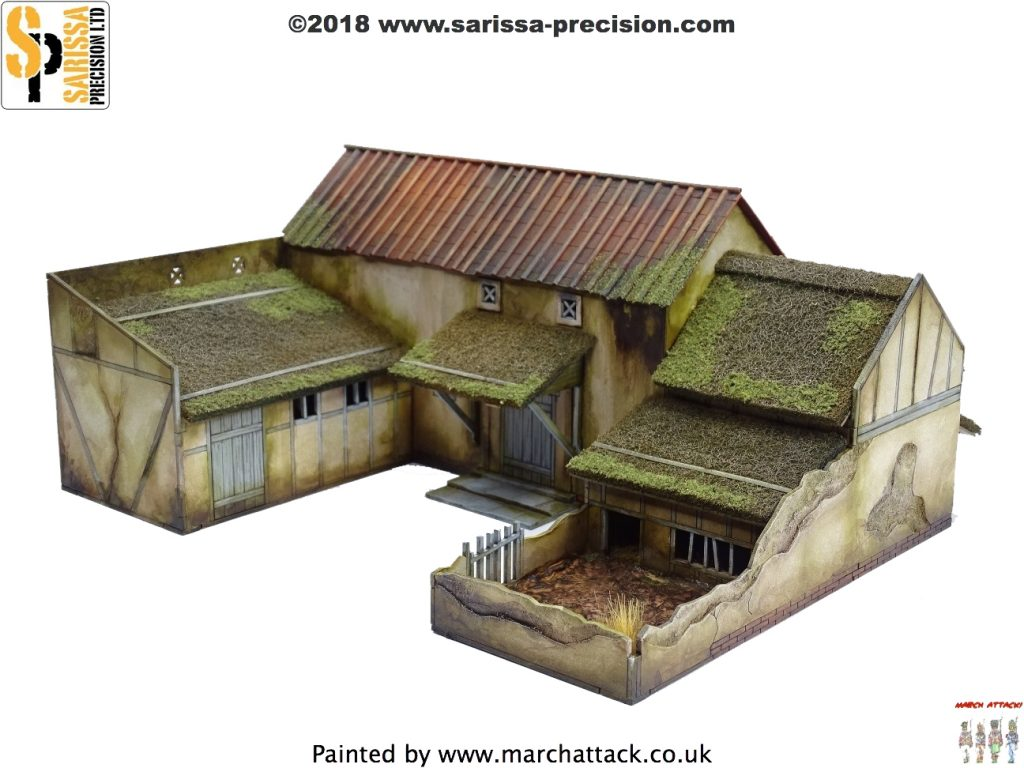 Dark Age Villa Farmstead - Sarissa Precision