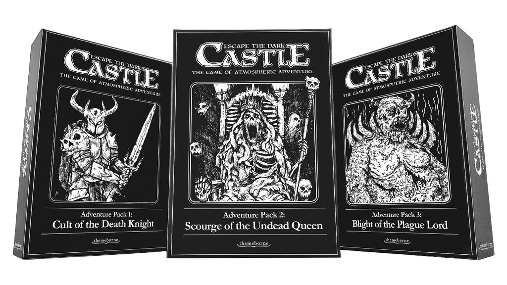 Escape The Dark Castle Adventure Packs - Themeborne