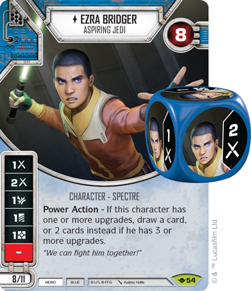 Ezra Bridger - Star Wars Destiny