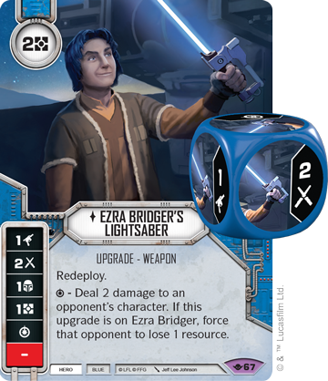 Ezra Bridger's Lightsabre - Star Wars Destiny