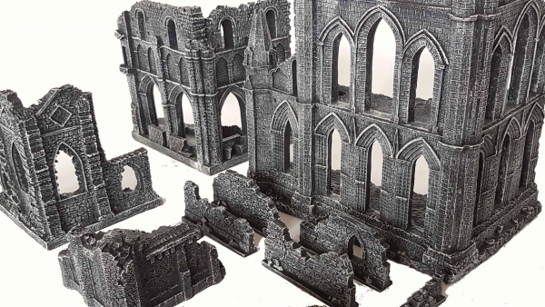 Gamemat.Eu's Gothic Ruins Appear in A Small Set