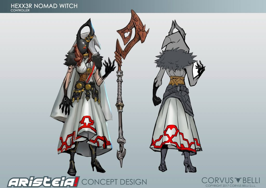 Hexx3r Nomad Witch Skin (Art) - Aristeia!