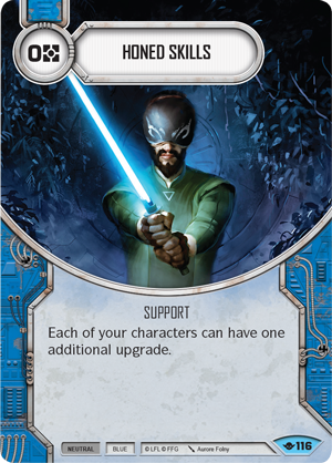 Honed Skills - Star Wars Destiny