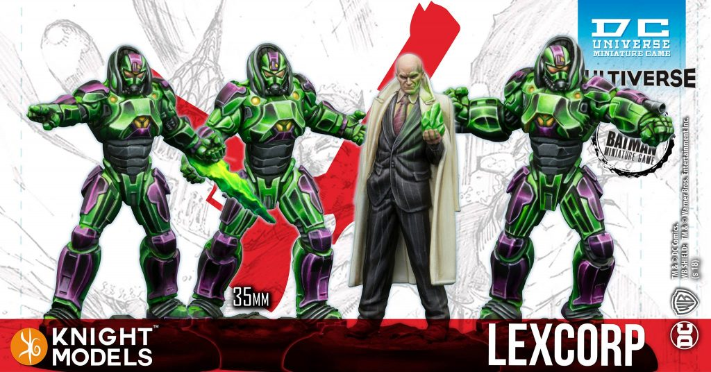 Lexcorp - Knight Models