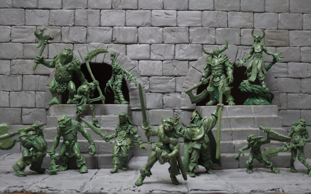 Litchmyre Dungeon Characters & Monster - Zealot Miniatures