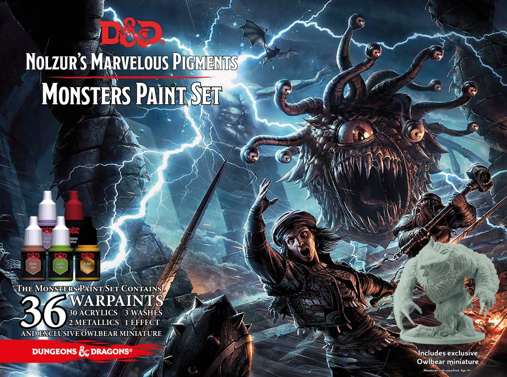 Monster Paint Set #1 - New