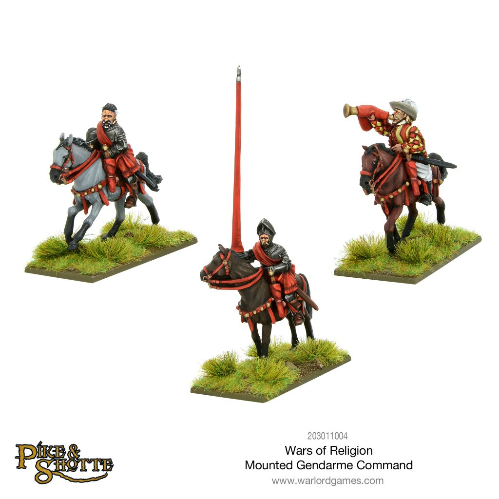 Mounted Gendarmes Command - Warlord Games