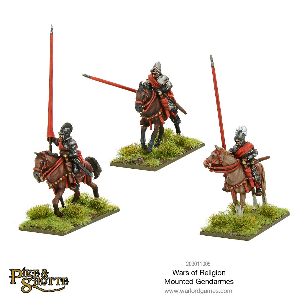 Mounted Gendarmes - Warlord Games
