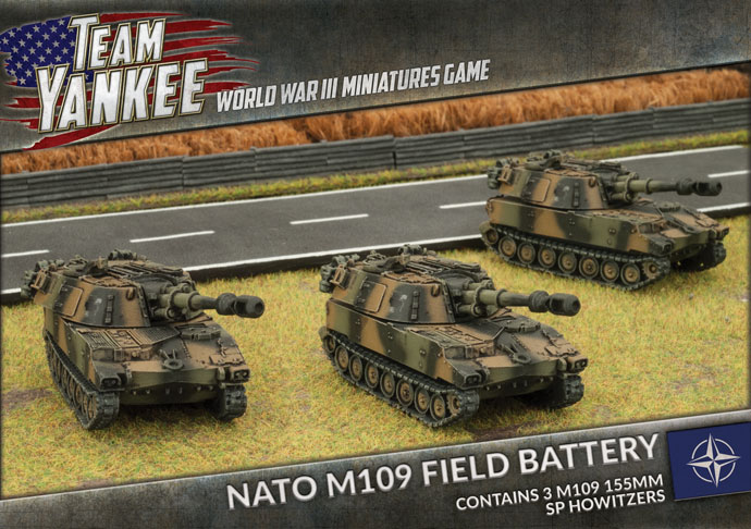 NATO M109 Field Battery - Team Yankee