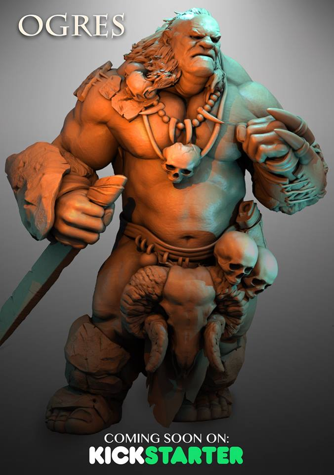Ogre Preview #1 - Atlantis Miniatures