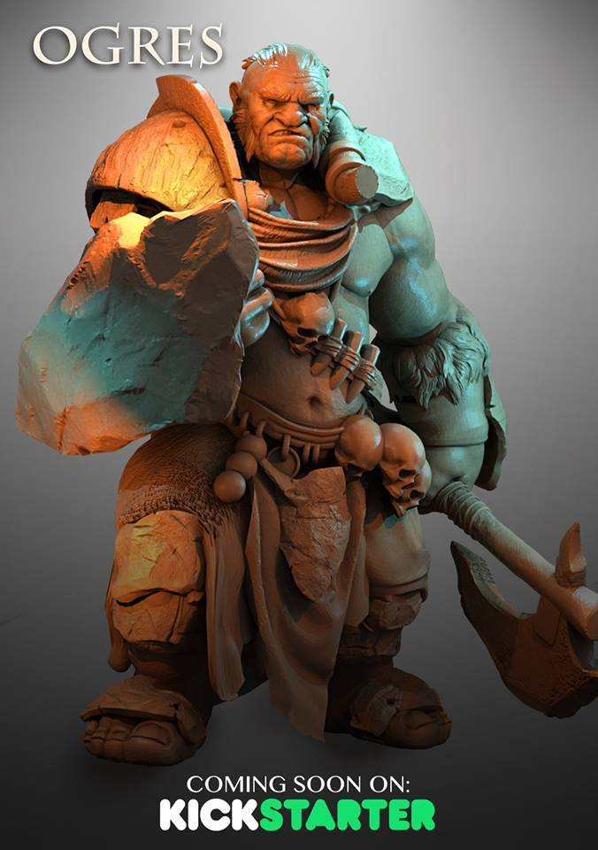 Ogre Preview #2 - Atlantis Miniatures