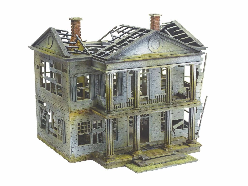 Plantation Manor Ruined #1 - Sarissa Precision