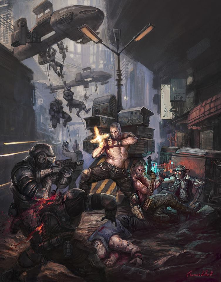 Osprey Bringing Cyberpunk Skirmish Game Reality's Edge Out In 2019