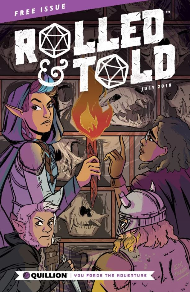 Rolled & Told Free Issue - Lion Forge