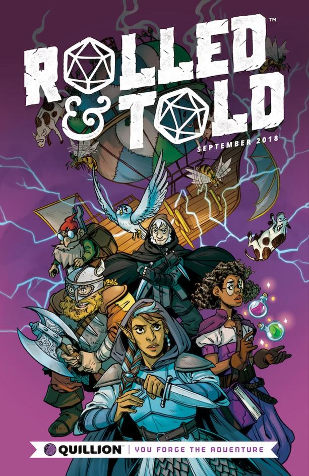 Rolled & Told - Lion Forge