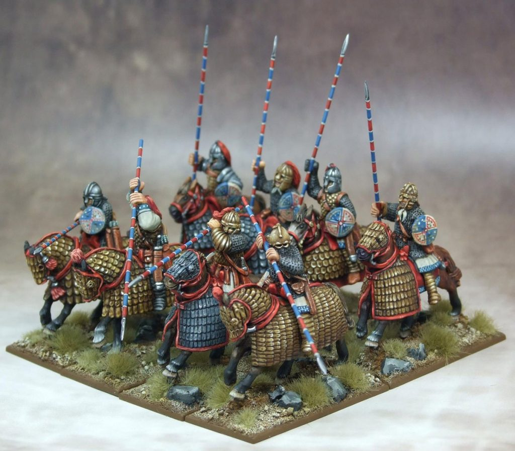Roman Cataphracts Painted #1 - Gripping Beast