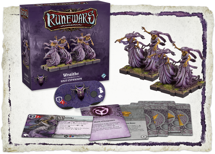 RuneWars Wraiths - Fantasy Flight Games