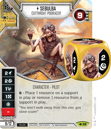 Sebulba - Star Wars Destiny