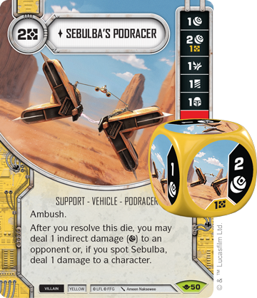 Sebulba's Podracer - Star Wars Destiny