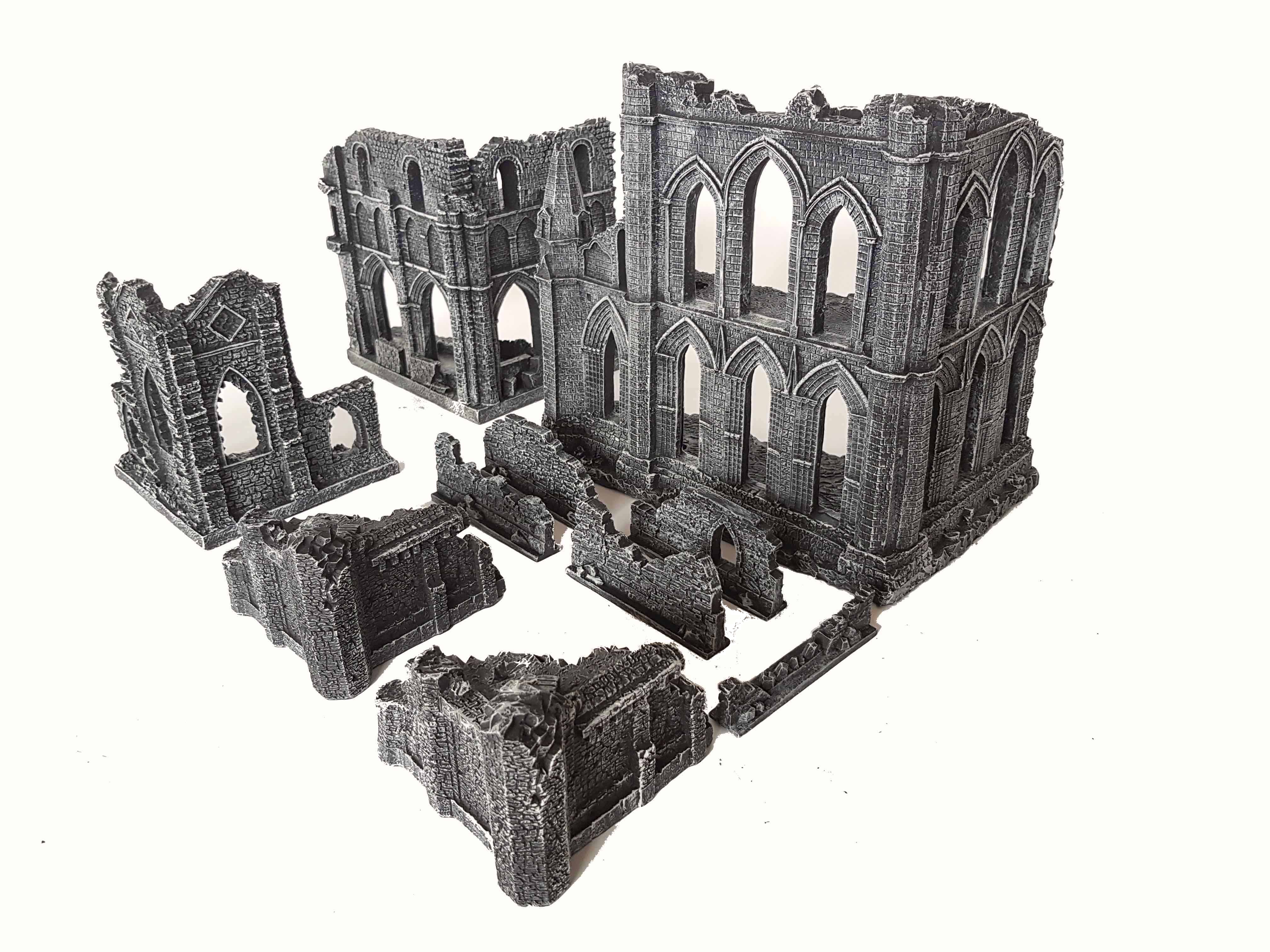 Eus Gothic Ruins Appear In A Small Set